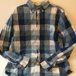Men's size small old navy button up shirt